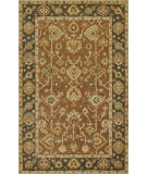 RugStudio presents Kas Jaipur 3851 Coffee/Green Hand-Tufted, Good Quality Area Rug