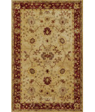 RugStudio presents Kas Jaipur 3860 Sand/Rust Hand-Tufted, Good Quality Area Rug