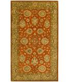 RugStudio presents KAS Kasmir Mahal Rust-Sage 4800 Hand-Tufted, Better Quality Area Rug