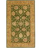 RugStudio presents KAS Kasmir Mahal Moss-Champagne 4803 Hand-Tufted, Better Quality Area Rug