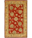 RugStudio presents KAS Kasmir All over Kashan Red-Gold 4806 Hand-Tufted, Better Quality Area Rug