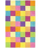 RugStudio presents KAS Kidding Around Girls 420 Color Blocks Hand-Tufted, Good Quality Area Rug