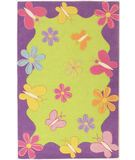 RugStudio presents KAS Kidding Around Springtime Fun 421 Multi Hand-Tufted, Good Quality Area Rug