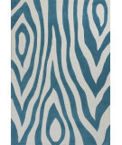 RugStudio presents KAS Kidding Around 439 Teal Wild Side Hand-Tufted, Good Quality Area Rug