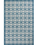RugStudio presents KAS Kidding Around 440 Teal Kaleidoscope Hand-Tufted, Good Quality Area Rug