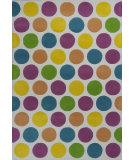 RugStudio presents KAS Kidding Around 441 Chic Lotsa Dots Hand-Tufted, Good Quality Area Rug