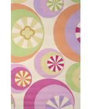RugStudio presents KAS Kidding Around Peppermints Pastel 430 Hand-Tufted, Good Quality Area Rug