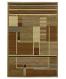 RugStudio presents Kas Lifestyles 5421 Beige Machine Woven, Good Quality Area Rug