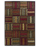 RugStudio presents Kas Lifestyles 5423 Mocha Machine Woven, Good Quality Area Rug