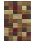 RugStudio presents Kas Lifestyles 5426 Beige Machine Woven, Good Quality Area Rug