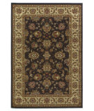 RugStudio presents Kas Lifestyles 5432 Mocha/Ivory Machine Woven, Good Quality Area Rug