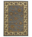 RugStudio presents Kas Lifestyles 5434 Slate/Ivory Machine Woven, Good Quality Area Rug