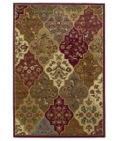 RugStudio presents Kas Lifestyles 5446 Red Machine Woven, Good Quality Area Rug