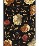 RugStudio presents Kas Lifestyles 5472 Black Machine Woven, Good Quality Area Rug