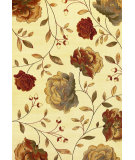 RugStudio presents Kas Lifestyles 5456 Ivory Machine Woven, Good Quality Area Rug