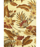 RugStudio presents Kas Lifestyles 5459 Ivory Machine Woven, Good Quality Area Rug