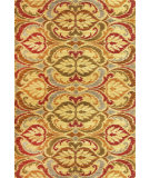 RugStudio presents Kas Lifestyles 5466 Gold Machine Woven, Good Quality Area Rug
