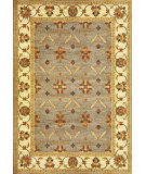 RugStudio presents Kas Lifestyles 5469 Slate/Ivory Machine Woven, Good Quality Area Rug