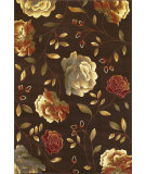 RugStudio presents Kas Lifestyles 5473 Mocha Machine Woven, Good Quality Area Rug