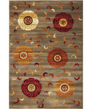 RugStudio presents Kas Lifestyles 5481 Slate Machine Woven, Good Quality Area Rug