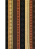 RugStudio presents Kas Loft 2091 Rust/Brown Hand-Tufted, Good Quality Area Rug