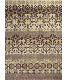RugStudio presents Kas Marrakesh 4512 Ivory / Slate Hand-Tufted, Good Quality Area Rug