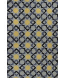 RugStudio presents Kas Meridian 2518 Blue Hand-Hooked Area Rug