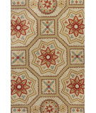 RugStudio presents Rugstudio Sample Sale 89037R Sand Hand-Hooked Area Rug