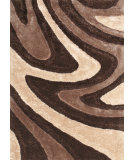 RugStudio presents Kas Metropolitan 3556 Mocha Hand-Tufted, Good Quality Area Rug