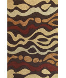 RugStudio presents Kas Milan 2104 Mocha Hand-Tufted, Good Quality Area Rug