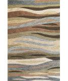 RugStudio presents Kas Milan 2108 Green Hand-Tufted, Good Quality Area Rug