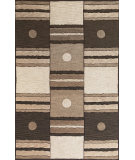 RugStudio presents Kas Milan 2109 Ivory/Mocha Hand-Tufted, Good Quality Area Rug