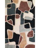 RugStudio presents Kas Milan 2116 Beige/Blue Hand-Tufted, Good Quality Area Rug
