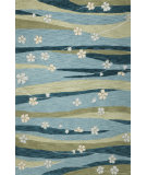 RugStudio presents Kas Milan 2129 Blue Hand-Tufted, Good Quality Area Rug