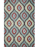 RugStudio presents Kas Milan 2135 Teal Hand-Tufted, Good Quality Area Rug