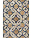 RugStudio presents Kas Milan 2137 Blue Hand-Tufted, Good Quality Area Rug
