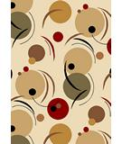 RugStudio presents KAS Moda Phases 6904 Ivory Machine Woven, Good Quality Area Rug