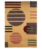 RugStudio presents Kas Moda 6906 Beige Machine Woven, Good Quality Area Rug