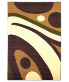 RugStudio presents KAS Moda Galaxy Plum-Ivory 6910 Machine Woven, Good Quality Area Rug