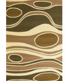 RugStudio presents Kas Moda 6944 Sage/Beige Machine Woven, Good Quality Area Rug