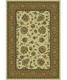 RugStudio presents KAS Monte Carlo II Mahal 8318 Ivory Beige Machine Woven, Good Quality Area Rug