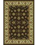RugStudio presents KAS Monte Carlo II Kashan Chocolate 8322 Machine Woven, Good Quality Area Rug