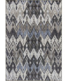 RugStudio presents KAS Montecarlo Iv 5165 Metallic Chevron Machine Woven, Good Quality Area Rug