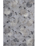 RugStudio presents KAS Montecarlo Iv 5166 Silver Mirage Flora Machine Woven, Good Quality Area Rug