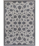 RugStudio presents KAS Montecarlo Iv 5174 Ivory Kashan Machine Woven, Good Quality Area Rug