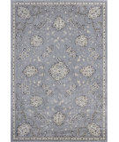 RugStudio presents KAS Montecarlo Iv 5190 Silver Bouquets Machine Woven, Good Quality Area Rug