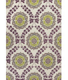 RugStudio presents Kas Mulberry 3403 Ivory / Plum Woven Area Rug
