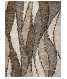 RugStudio presents Kas Optic 1103 Ivory Hand-Tufted, Good Quality Area Rug