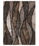 RugStudio presents Kas Optic 1110 Taupe Hand-Tufted, Good Quality Area Rug