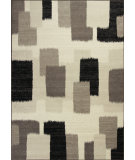 RugStudio presents Kas Reflections 7413 Black Machine Woven, Good Quality Area Rug